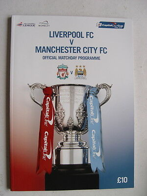 Liverpool v Manchester City 2016 Capital One Cup Final