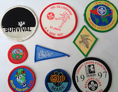 Collection Scout Cloth Patches