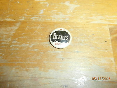 Original Beatles Pin From 1964 Stamped Chicago Green Duck Company1964