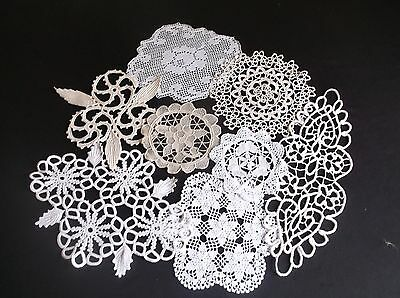 Vintage Collection 8 Assorted Styles Of Cotton Doilies