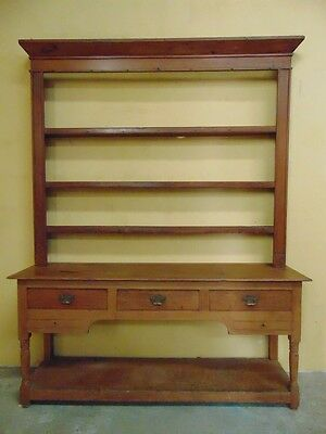 Rare small Welsh Potboard dresser in Pine C1790