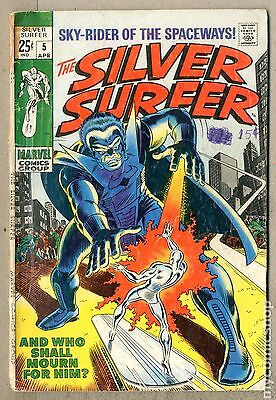 Silver Surfer (1968 1st Series) #5 GD- 1.8 LOW GRADE