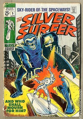 Silver Surfer (1968 1st Series) #5 FR/GD 1.5 LOW GRADE