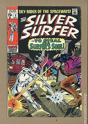 Silver Surfer (1968 1st Series) #9 GD+ 2.5 LOW GRADE