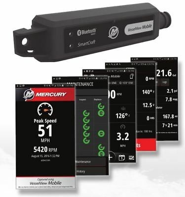 OEM Mercury Marine SmartCraft VesselView Mobile Kit Android iOS 8M0115080