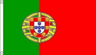8' x 5' PORTUGAL FLAG Portuguese Europe Extra Large Flags Funeral Coffin Drape
