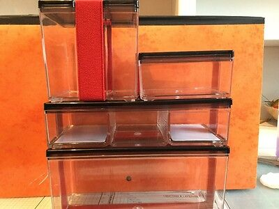 Craft/Sewing storage boxes Simplicity set of 4 boxes. Excellent