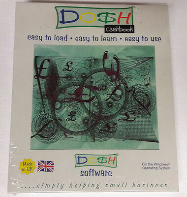 Dosh Cashbook Accounting Software New & Sealed