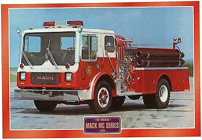 Mack MC Series       Fire Engine    Glossy   Picture (T87)