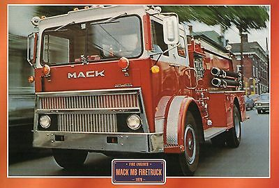Mack MB Firetruck        Fire Engine    Glossy   Picture (T90)