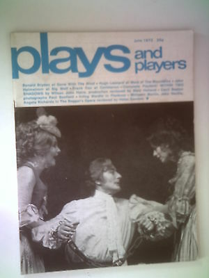 Plays And Players Magazine ,vintage,june 1972,gone With The Wind,