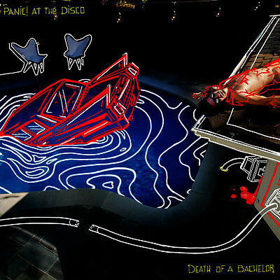 Panic! At The Disco - Death Of A Bachelor - Lp Vinyl New Sealed 2016