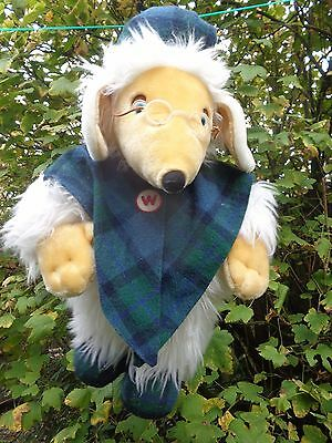 "Vintage WOMBLE HOT WATER BOTTLE COVER soft toy 24"" high UNCLE BULGARIA"