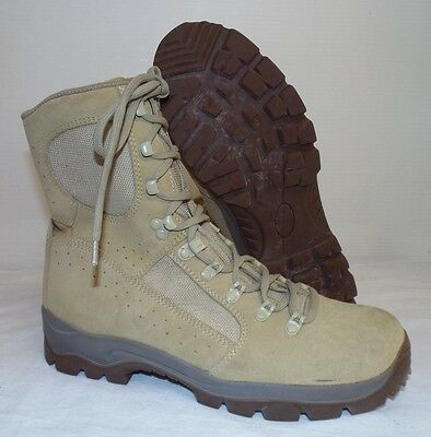 MEINDL DESERT FOX COMBAT BOOTS - Size: 10 uk , British Army Issue