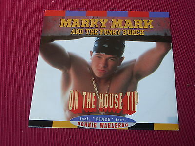 """Marky Mark & The Funky Bunch:  On The House Tip   UK  NM   7"""""""