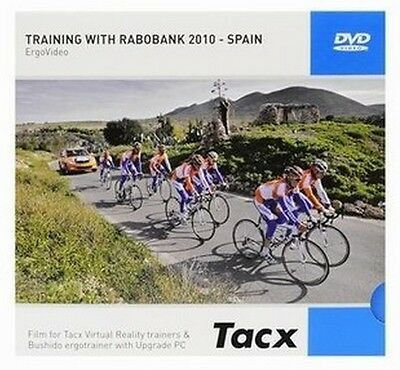 Tacx Real Life Video DVD Training with Rabobank Spain Virtual Reality Trainer