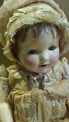 Composite Mama Doll from Perfect Toy Mfg Co. 1919-1930 Original clothing & Shoes
