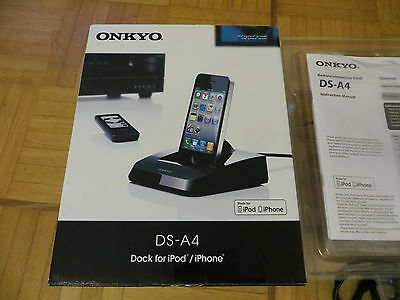 Onkyo DS-A4 dock for iPod / iPhone Remote Interactive Dock w/Controller