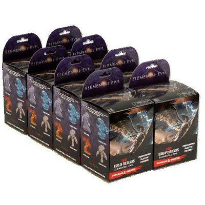 Dungeons & Dragons: Icons of the Realms: Standard Booster 8 Count Brick - Eleme