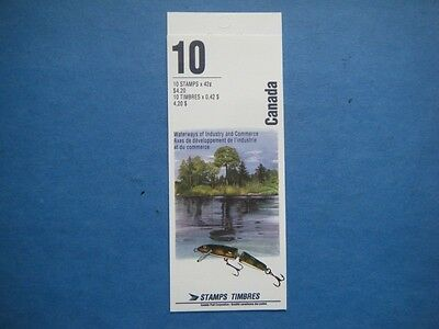 Canada#1412b (BK 145) MNH Booklet 'Heritage Rivers-2' Lot#P6