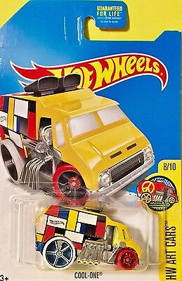 Hot Wheels 2017 KMart 02/17 Collector Day Exclusive COOL ONE Yellow FBH92