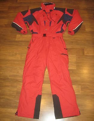 Red COULOIR Fusion Mens 44 LARGE Onesie Snow SKI Suit BIB Jacket Coat Snowsuit L