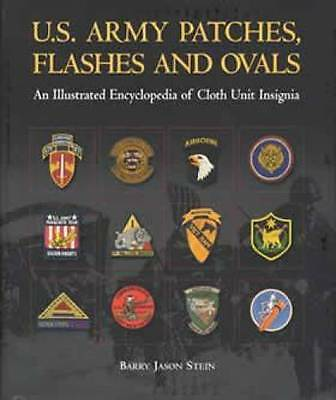US Army Patches Flashes Ovals Book WW2 Vietnam Patch