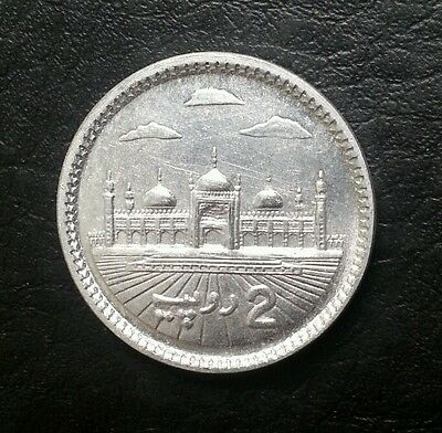 Pakistan 2 Rupees 2008 Unissued Coin Unc Look!!!