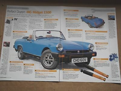 Mg Midget 1500 - Upgrades