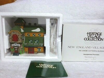 Dept 56 New England McGrebe Cutters & Sleighs - 56405