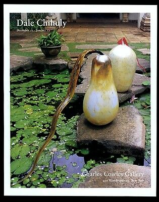 1992 Dale Chihuly glass gourd photo NYC art gallery vintage print ad