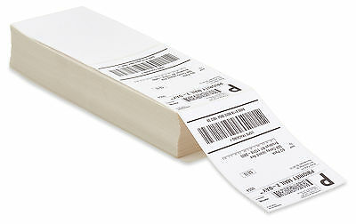 4000 Fanfold 4x3 Direct Thermal Labels. Shipping / Barcode Labels Zebra UPS