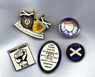 Dundee Badges Mixed Set Of 5