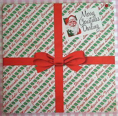 Merry Christmas Darling V Rare Various Artists Double LP Compilation AMLC4005