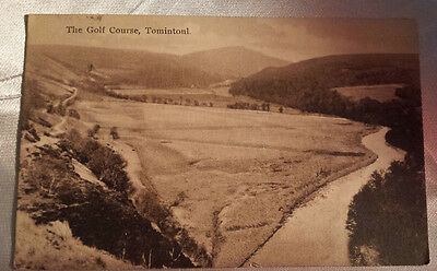 Tomintoul, Golf Course 1938