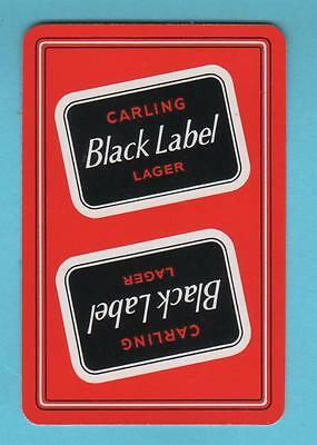 Brewery Product Playing Card Single 1 no - Carling Black Label (Boxed Outline)