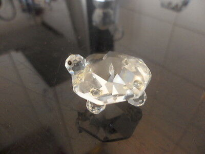 crystal animal TURTLE marked on the back MUST SEE