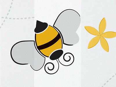 20 Large Sheets of BUMBLE BEES on White Tissue Paper # 0253