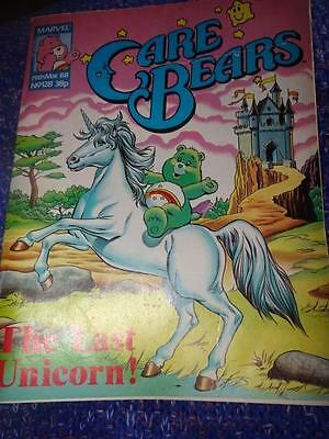 Vintage UK Edition Marvel Care Bears Comic No. 128 19th March 1988