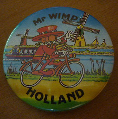 Button - Pin,  Mr Wimpy Holland   (666)