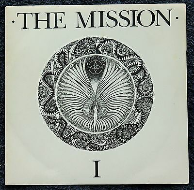 "The Mission I Serpents Kiss Goth Rock 1980s 7 "" INCH 45RPM"
