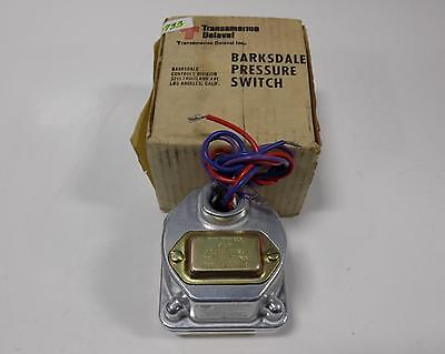Barksdale Pressure Or Vacuum Actuated Switch  D1H-H18 Nib *pzb*