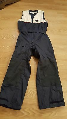 Musto Size M mens Yachting Sailing Navy Salopettes trousers vgc
