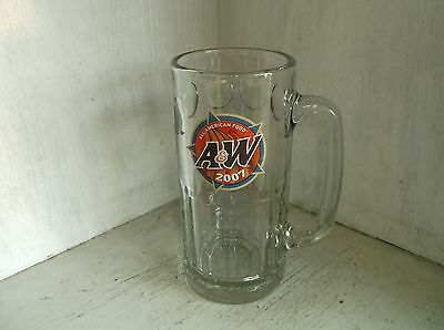 2007 A&W Root Beer All American Foot Restaurant Ware Tall Mug A & W