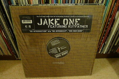 JAKE ONE featuring Kutfather NO INTRODUCTION 12 conception records CONMEN