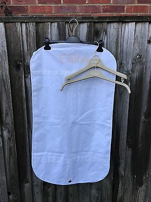 chloe garment bag /suit cover/protector ,two hangers