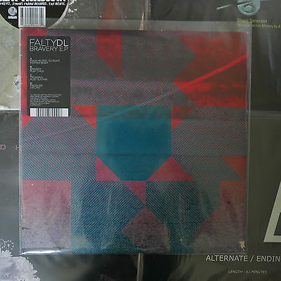 Falty Dl Bravery Ep 2Lp Planet Mu Ziq244 Warp Dmz Tectonic Deep Medi Dub Step