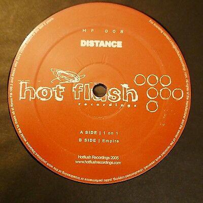 "Dubstep 12"" Distance 1 On 1 Empire Hot Flush Hf008 05 Planet Mu Chestplate Dmz"