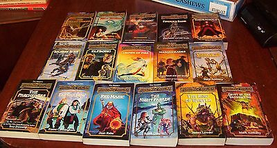 Full Set of 16 Dungeons & Dragons Forgotten Realms The Harpers Books 1-16 Lot
