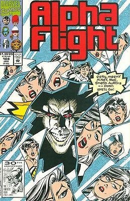 Alpha Flight (1983 1st Series) #104 VF